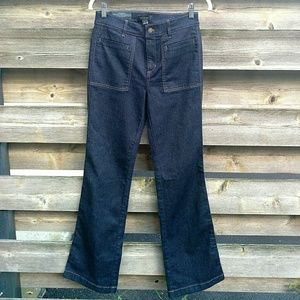 High-rise Flare Jeans - Size 4